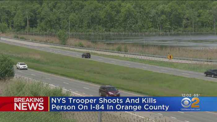 New York State Trooper Shoots, Kills Person On I-84 In Orange County