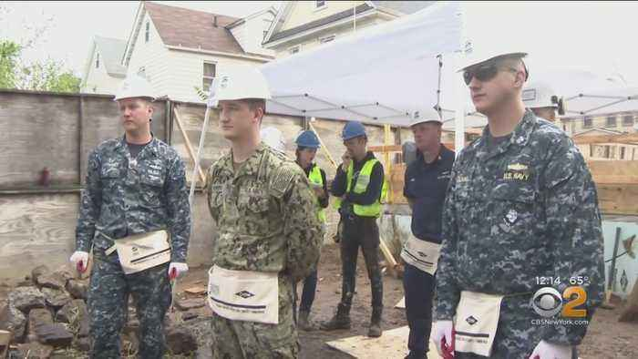 Service Members On Leave Helping Build Homes For New Yorkers
