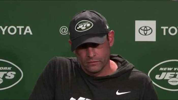 New York Jets head coach and interim general manager Adam Gase on former Jets general manager Mike Maccagnan: 'Decision was made