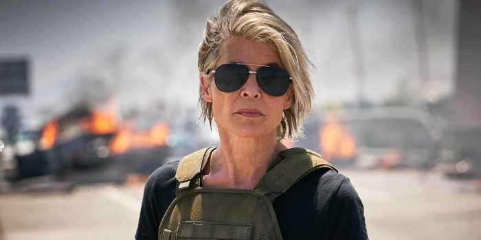 Linda Hamilton Returns in 'Terminator: Dark Fate' Trailer
