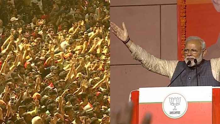 PM Narendra Modi's victory speech at BJP headquarter Delhi | Watch Video | Oneindia News