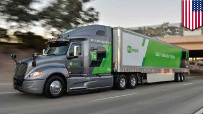 US postal service tests mail delivery using driverless trucks