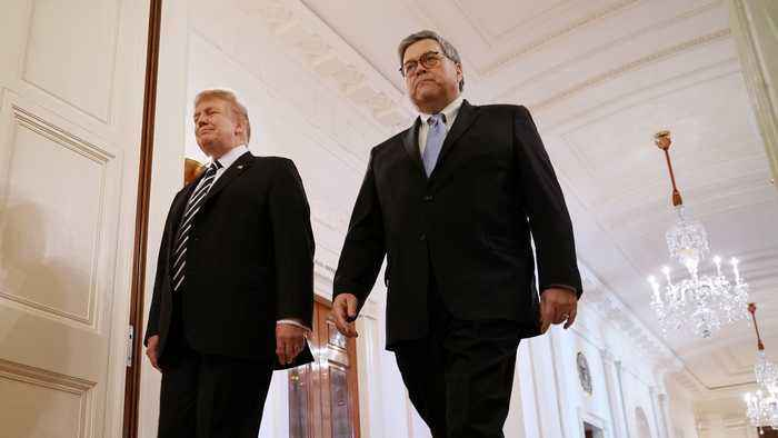 Trump Orders Intel Agencies To Help With Barr Review Of Russia Probe