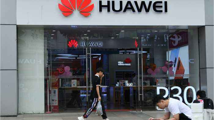 Trump contradicts himself discussing Huawei