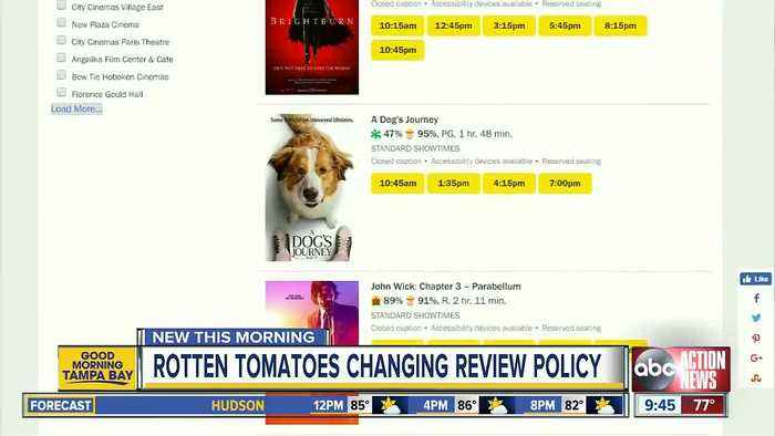 Rotten Tomatoes to link audience ratings to ticket purchases