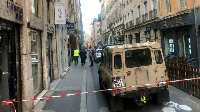 At least 8 Iijured in suspected bomb attack in Lyon