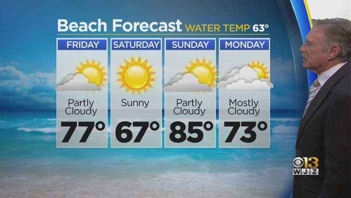 Bob Turk Has Your Beach Forecast For Memorial Day Weekend
