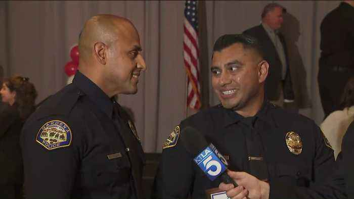 Officers Honored for Saving 18-Month-Old in California