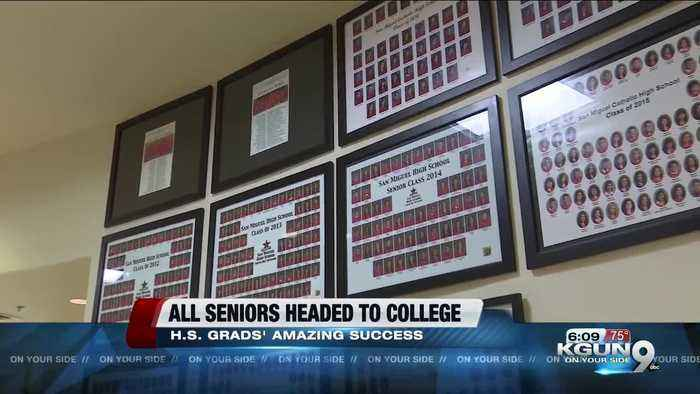 Entire high school graduating class accepted into college