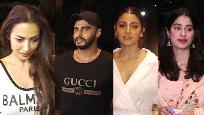 Malaika Arora cheers for Arjun Kapoor, watches India's Most Wanted again