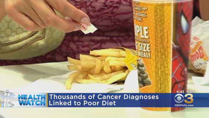 Thousands Of Cancer Diagnosis Linked To Poor Diet, Study Finds
