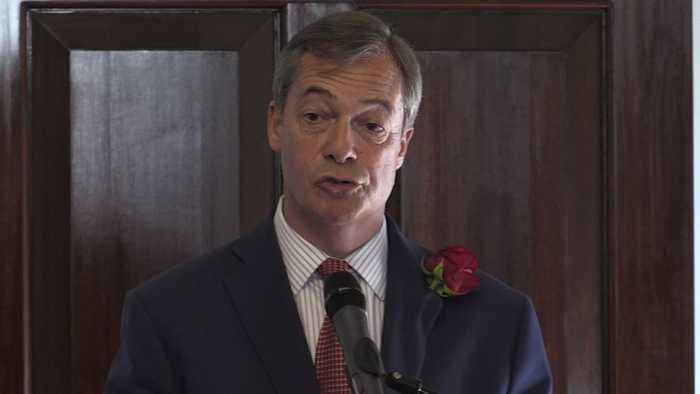 The Brexit Party's Nigel Farage Says Theresa May 'Misjudged The Mood' Of Britain