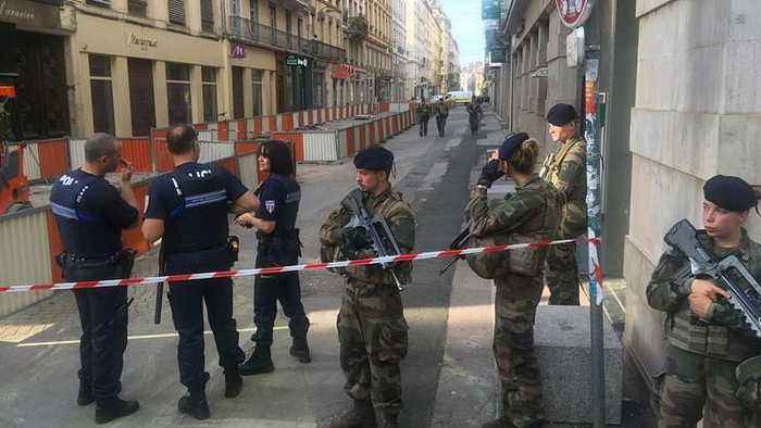 Eight injured in suspected parcel bomb explosion in Lyon, France