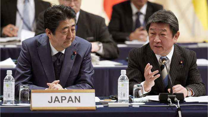 Japan And U.S. Must Work to Narrow Differences On Trade