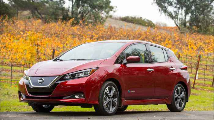 Nissan Says Their Leaf Electric-Car Batteries Outlast Vehicles By 10 - 12 Years
