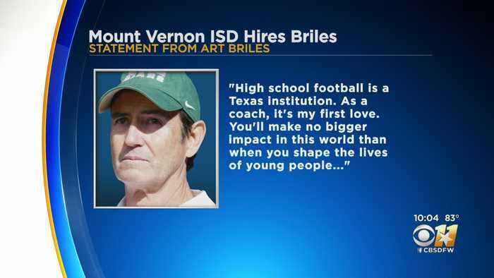 Art Briles Hired By Mount Vernon ISD To Coach High School Football Team
