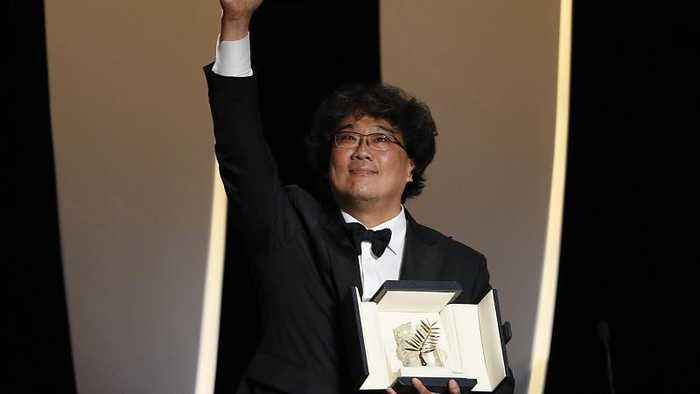 'Parasite' directed by Bong Joon-ho wins prestigious Palme d'Or at Cannes film festival