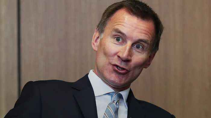 Tory leadership race: Jeremy Hunt
