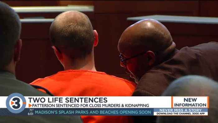 'You are the embodiment of evil': Judge sentences Jake Patterson to 2 life sentences plus 40 years