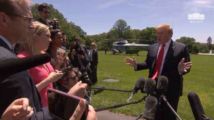 Trump Claims Fake News Is Giving Him Fake Poll Numbers