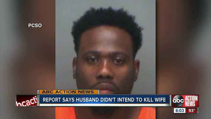Arrest report says St. Pete man didn't intend to kill pregnant wife