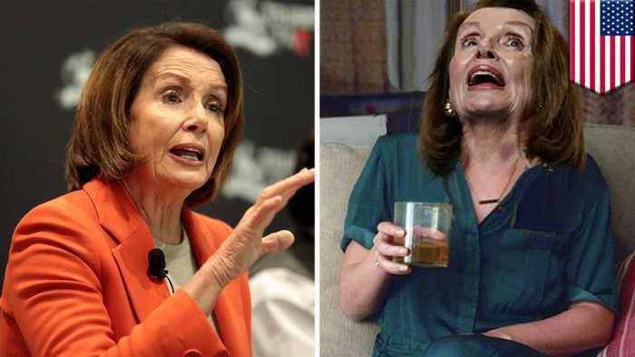 Nancy Pelosi victim to fake news as viral video shows her drunk