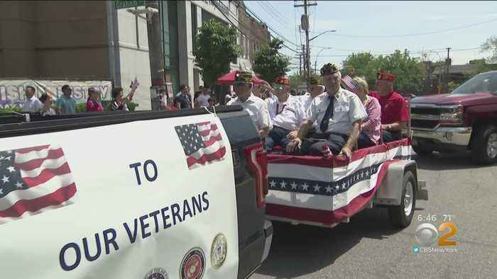 Vets Honored At College Point Memorial Day Parade