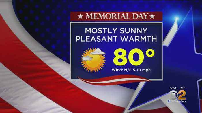 New York Weather: Looks Like A Beautiful Memorial Day