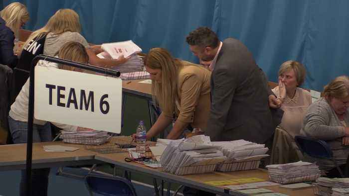 Conservatives and Labour suffer huge loses in EU elections