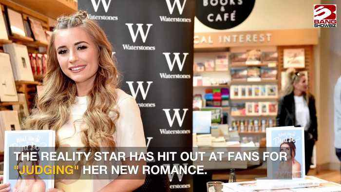 Dani Dyer hits back at romance critics