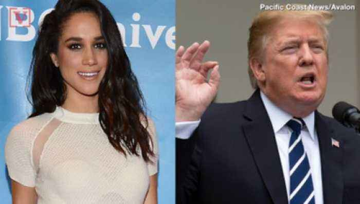 Meghan Markle Won't Be Joining Prince Harry at The Queen's Lunch With President Trump