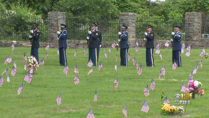 Maryland Mom Remembers Son Killed In The Line Of Duty; Baltimore County Ceremony Honors Fallen