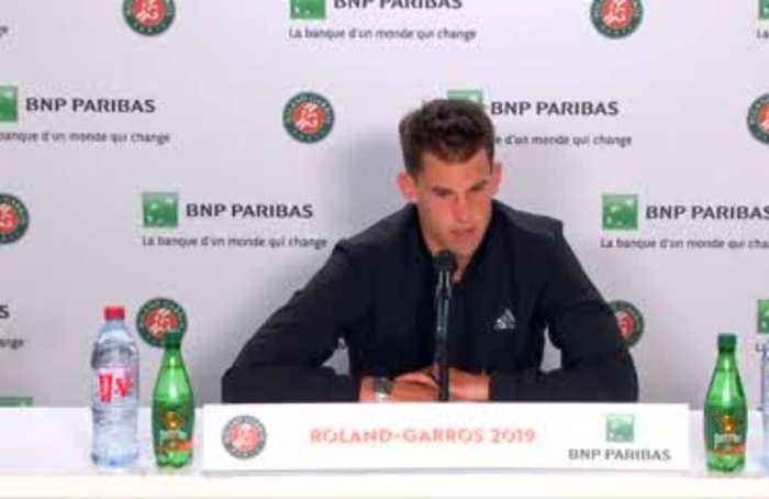 """Thiem says winning French Open will be """"very, very tough"""""""