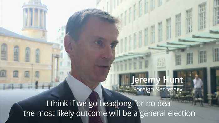 Jeremy Hunt: Calling general election would be 'political suicide'