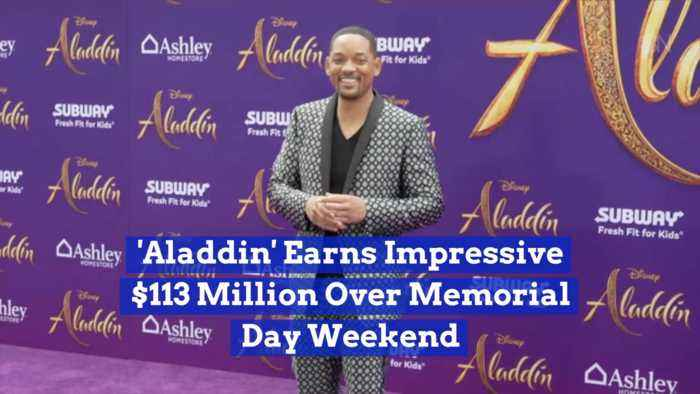 'Aladdin' Makes Serious Cash Over Memorial Day Weekend