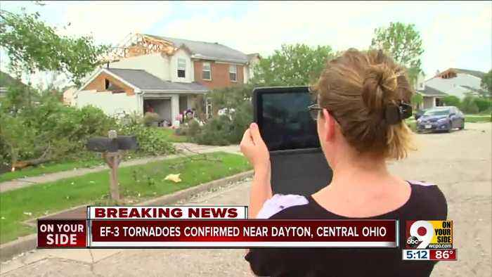 NWS surveying storm damage near Dayton