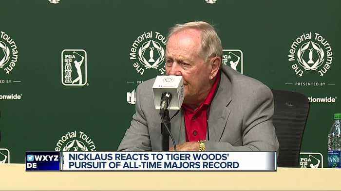 Jack Nicklaus discusses Tiger Woods' pursuit of majors record