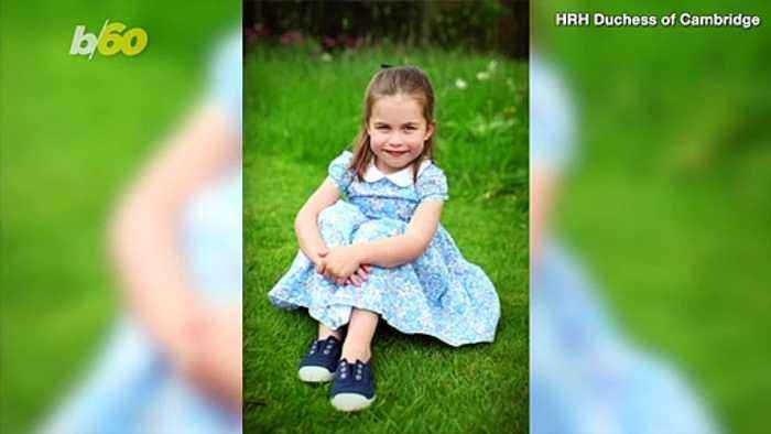 Princess Charlotte Heads to School with Her Brother