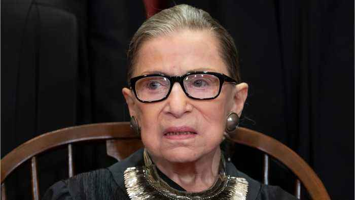 Supreme Court Justice Ruth Bader Ginsburg speaks out against recent abortion laws