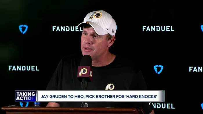 Jay Gruden echoes the Lions in message to HBO: pick Raiders for 'Hard Knocks'