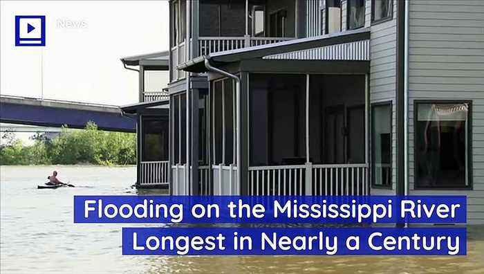 Flooding on the Mississippi River Longest in Nearly a Century