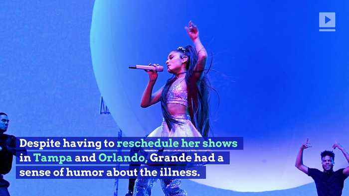 Ariana Grande Cancels Tour Dates After Allergic Reaction to Tomatoes