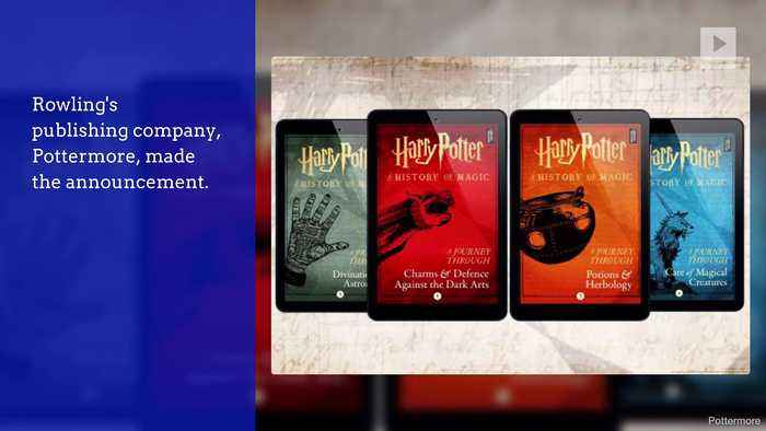 J.K. Rowling to Release 4 New 'Harry Potter' E-Books