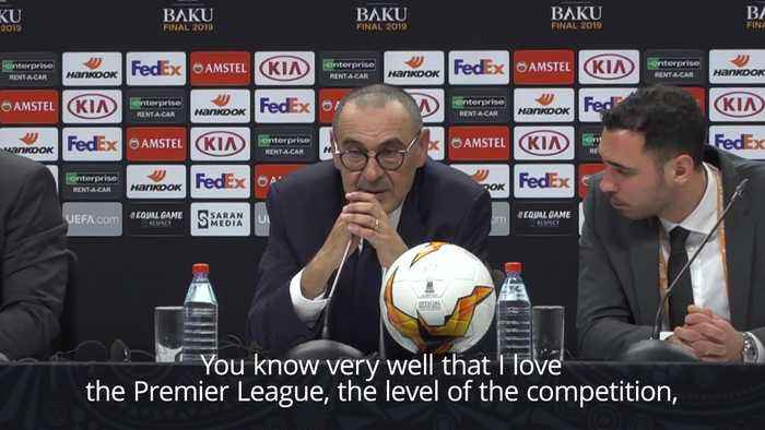 Chelsea boss Sarri discusses future with the club