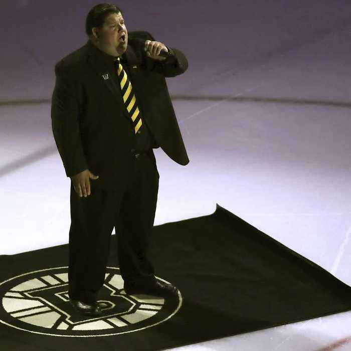 Meet the bartender singing the National Anthem at Bruins games