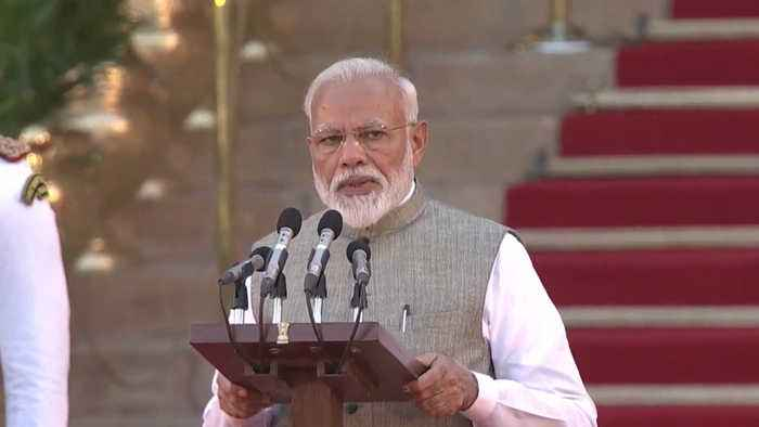 Narendra Modi takes oath as PM of India for second term