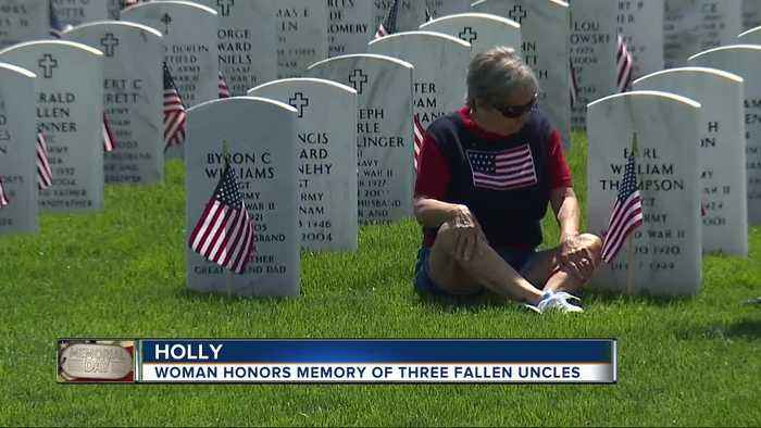 Memorial Day Ceremony In Holly For Service Members Killed Defending Freedom