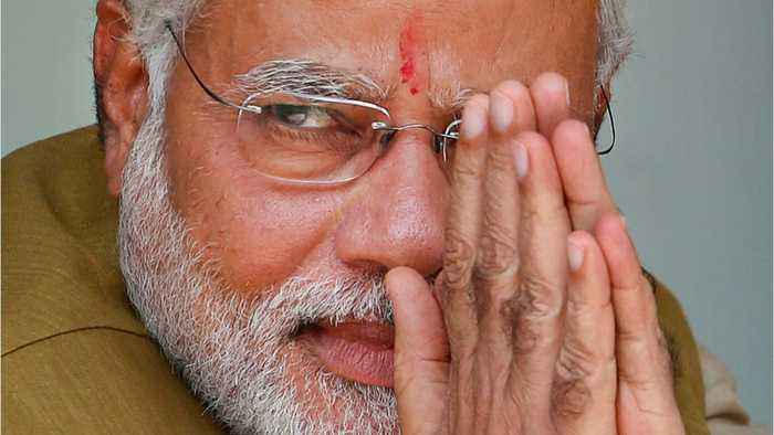 India's Modi signed in for second term as PM