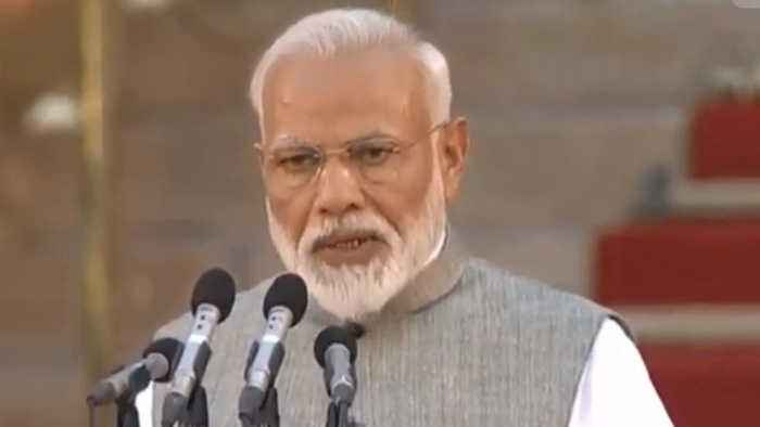 Narendra Modi Sworn In as India's Prime Minister for a Second Term
