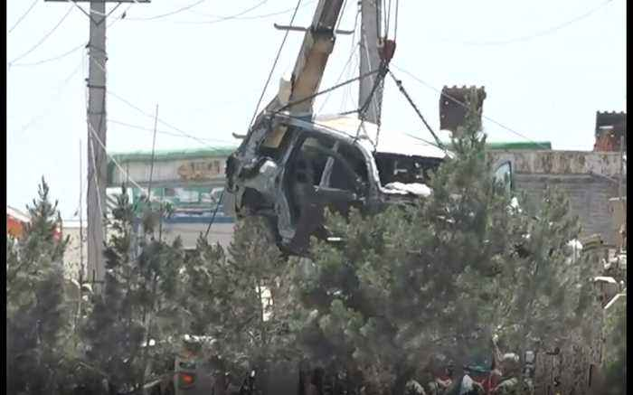 US Service Members Wounded in Kabul Car Bombing